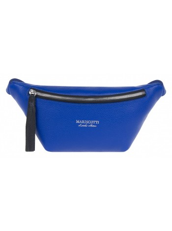 Поясная сумка женская кожаная Franchesco Mariscotti 1-4614к-014 ультрамарин