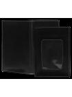 Обложка для автодокументов кожа ОВ-3-A дымчато-черный Apache