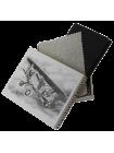 Бумажник водителя мужской кожаный А-БС-1 черного цвета Авиатика