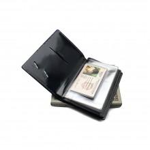 Обложка для автодокументов и паспорта ОВ-О бордовый Эллада