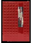 Бумажник водителя женский кожаный БС-12 avenue rouge Kniksen красный