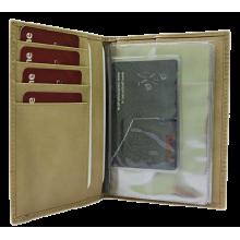 Стильный бумажник водителя БС-9 лабиринт Person
