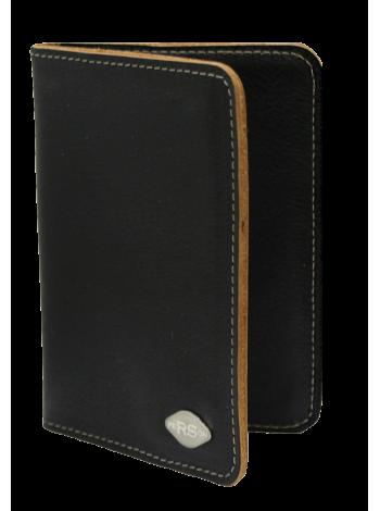 Обложка для автодокументов кожаная BO-Person-RS черный