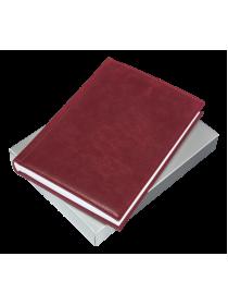 Ежедневник натуральная кожа ЕЖ-А5 Person бордо