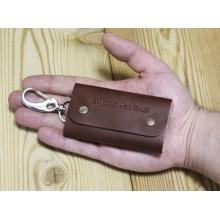 Ключница из кожи карманная мужская КC-А коричневый Apache