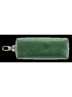 Футляр для ключей длинный C-КМ-2 друид зеленый Флауэрс