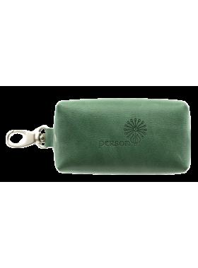 Футляр для ключей малое С-КМ-1 друид зеленый Флауэрс
