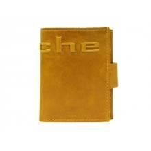 Купюрник кожаный МП-А табачно-желтый Apache