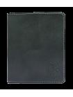 Портмоне мужское кожаное для документов и денег ВП-А дымчато-черный Apache