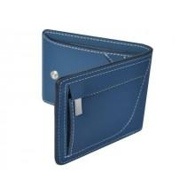 Мужское портмоне для денег и карт КО-3-RS Blue синий RS