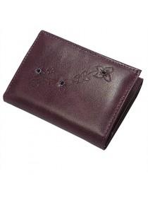 Портмоне кошелек женское кожаное Джари-2 Мэри Kniksen фиолетовый