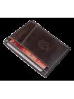 Футляр для карт из натуральной кожи ФК-А коричневый Apache