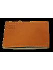 Картхолдер для карт мужской кожаный ФПК-3-S рыжий Apache с защитой от считывания RFID