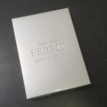 Обложка для паспорта женская натуральная кожа ОП-Ф аляска бирюза Person