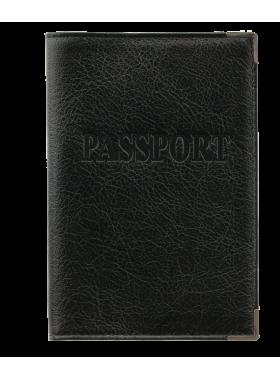 Обложка для паспорта ОП-3 лат. Person черная