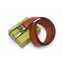 Ремень кожаный натуральная кожа РЕМ-4-A Apache коричневый