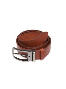 Ремень кожаный натуральная кожа РЕМ-5-A Apache коричневый