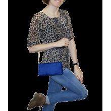 Сумка клатч женский Мэри СК-2 друид синий Kniksen