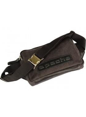 Поясная сумка для мужчин СП-5215-А канвас коричневая Apache
