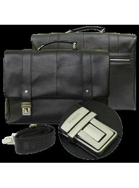 Деловой портфель из кожи Прист-2 Person