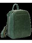 Рюкзак кожаный P-9013-A друид зеленый Apache