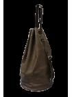 Сумка мешок через плечо из натуральной кожи C-9213-A дымчато-коричневый Apache