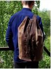 Сумка мешок мужская через плечо С-9214-А Apache коричневая