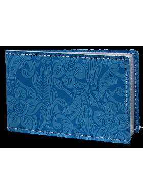 Футляр для кредитных карт и визиток кожаный ВМ-Ф аляска бирюза Person