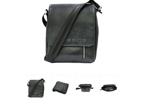 Модная классика мужских кожаных сумок
